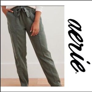 AERIE Camp Pant - Green